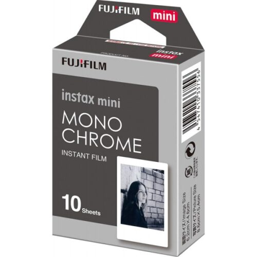 Fujifilm Instax mini film Mono Chrome (10 db)