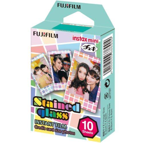 Fujifilm Instax mini film Stained Glass (10 db)