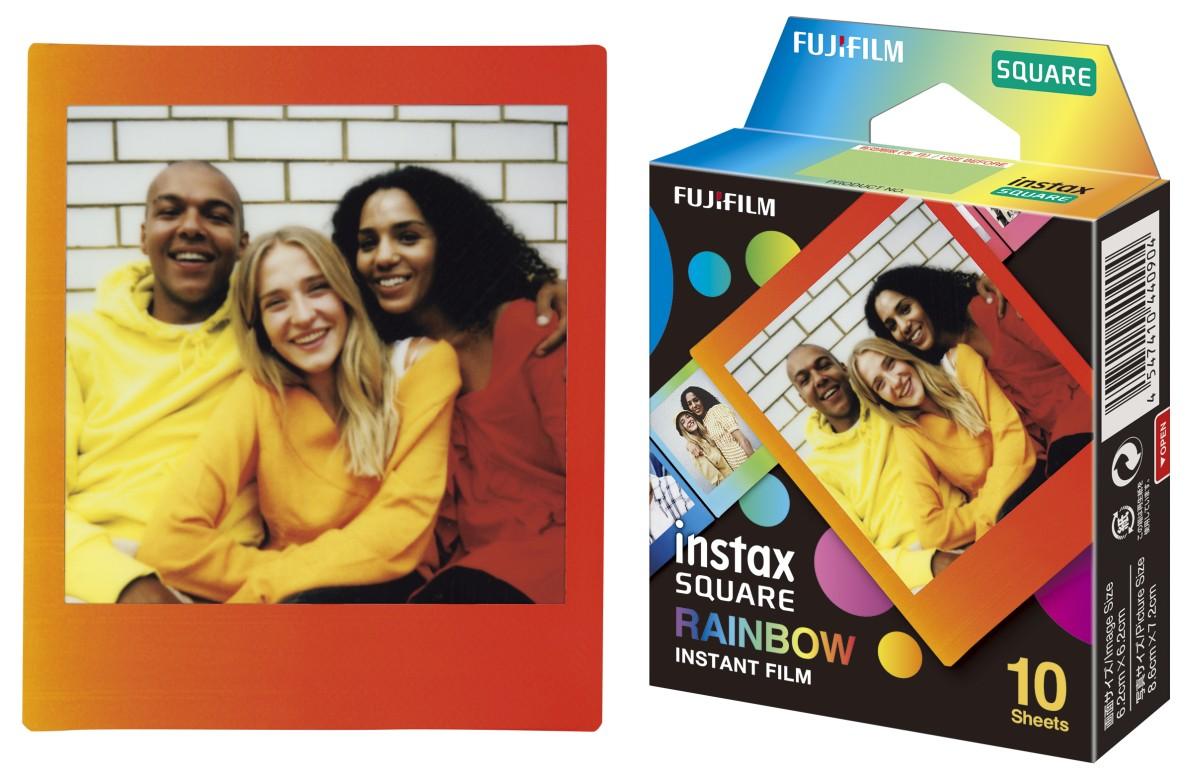 Fujifilm Instax SQUARE Rainbow film 2
