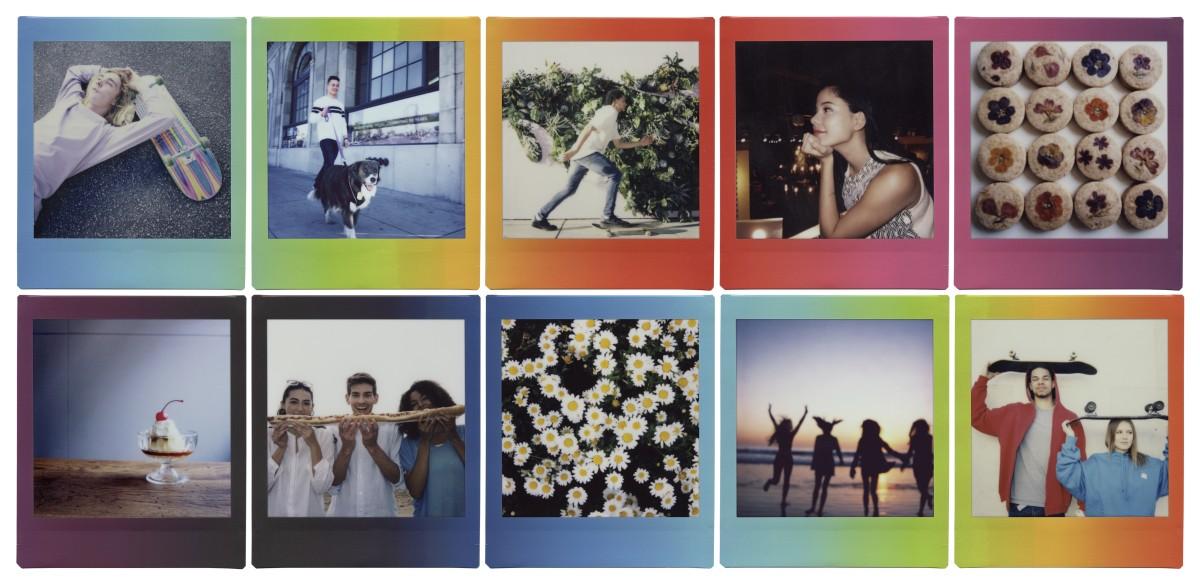 Fujifilm Instax SQUARE Rainbow filmek