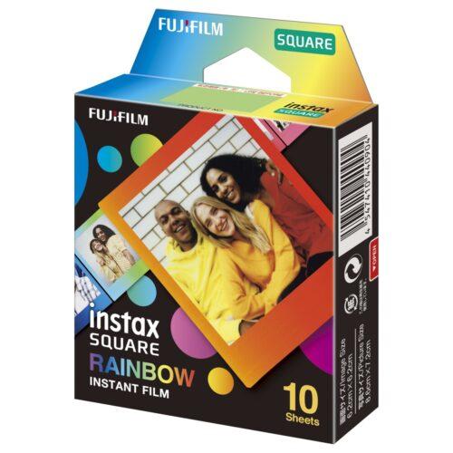 Fujifilm Instax SQUARE Rainbow film (10 db)
