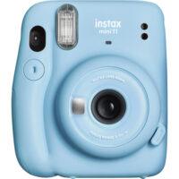 Fujifilm Instax Mini 11 instant fényképezőgép kék 1
