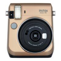 Instax Mini 70 fényképezőgép arany 01
