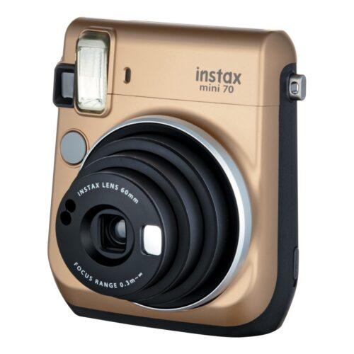 Instax Mini 70 fényképezőgép arany 02