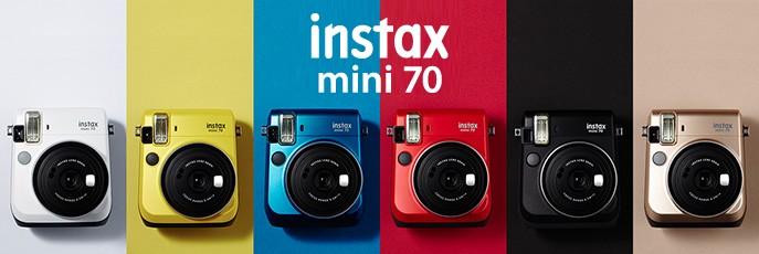 Fujifilm Instax Mini 70 instant fényképezőgépek