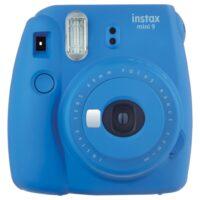 Instax Mini 9 kobaltkék fényképezőgép 01
