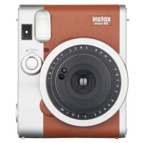 Instax Mini 90 fényképezőgép barna 01