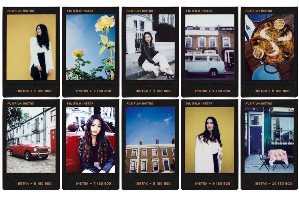 Fujifilm Instax mini film Contact Sheet 2