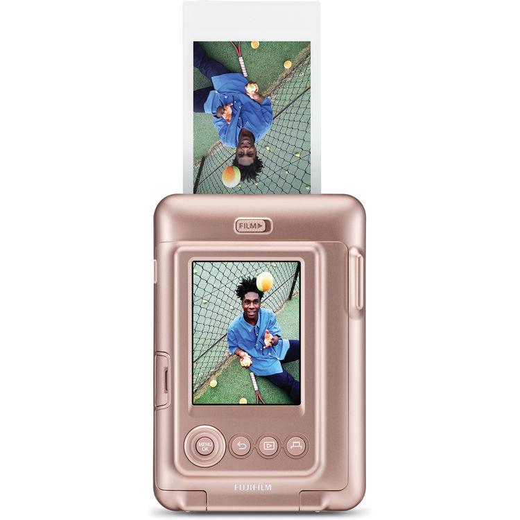 Instax Mini LiPlay fényképezőgép arany színben