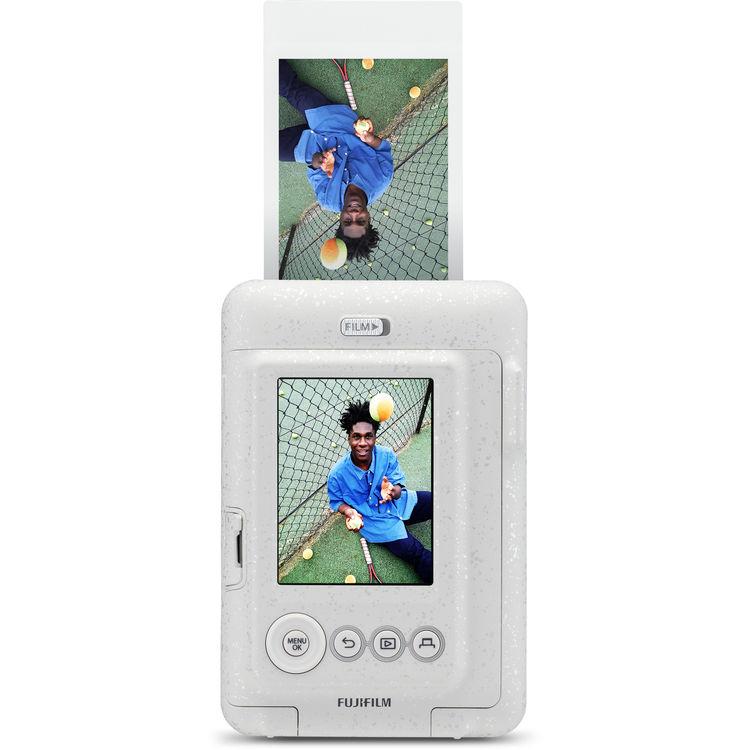 Instax Mini LiPlay fényképezőgép fehér színben