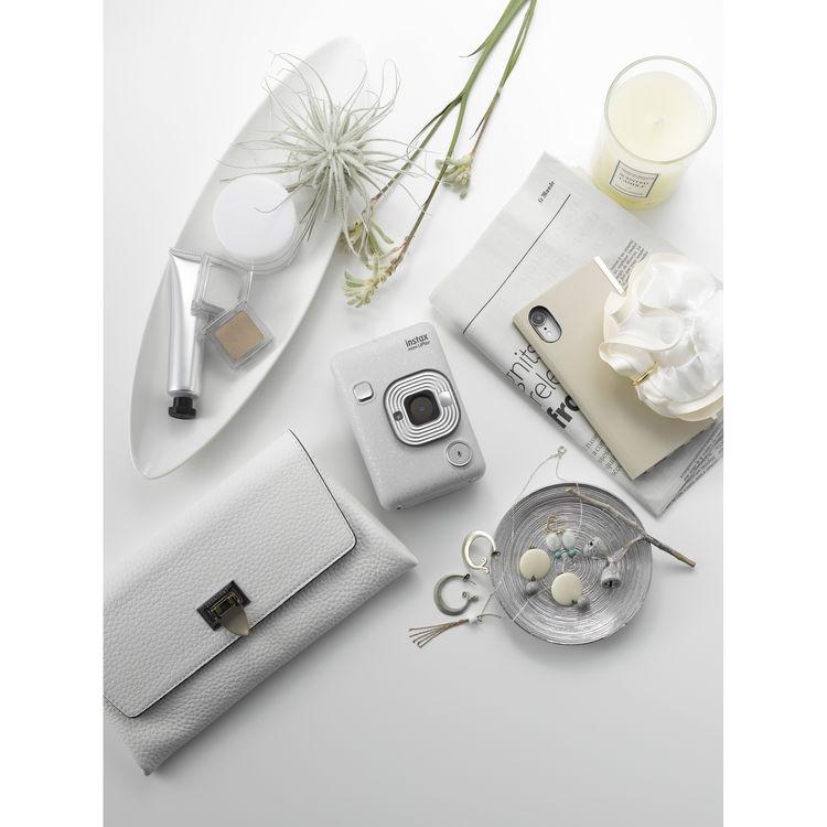 Instax Mini LiPlay fényképezőgép fehér szín
