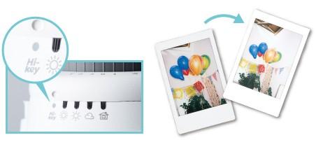 Instax mini 9 fényképezőgép High-key mód