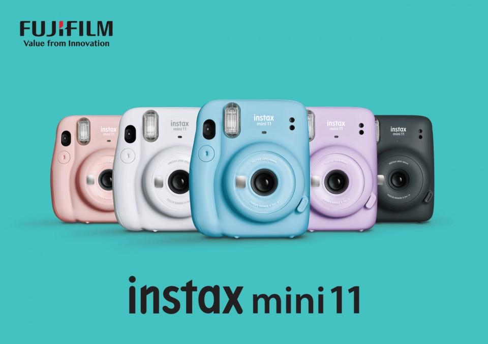 Fujifilm instax mini 11 fényképezőgép 5 színben